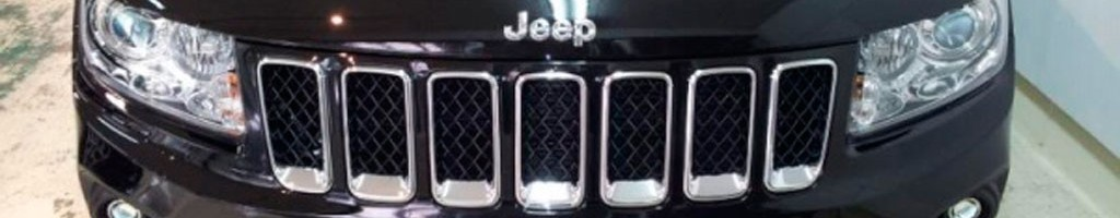 jeepフロントグリルアップ