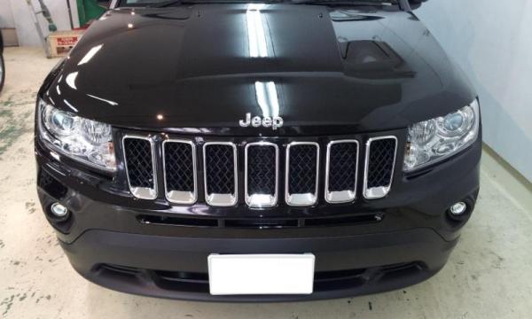 jeepフロントグリル