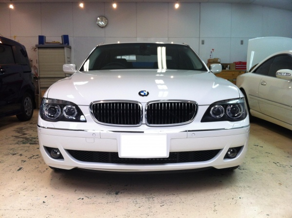 BMW750iLフロントグリル