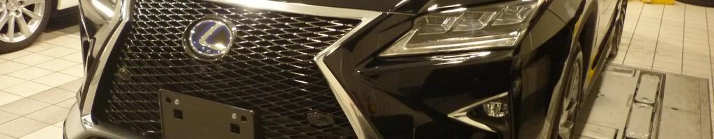 レクサスRX450hフロント